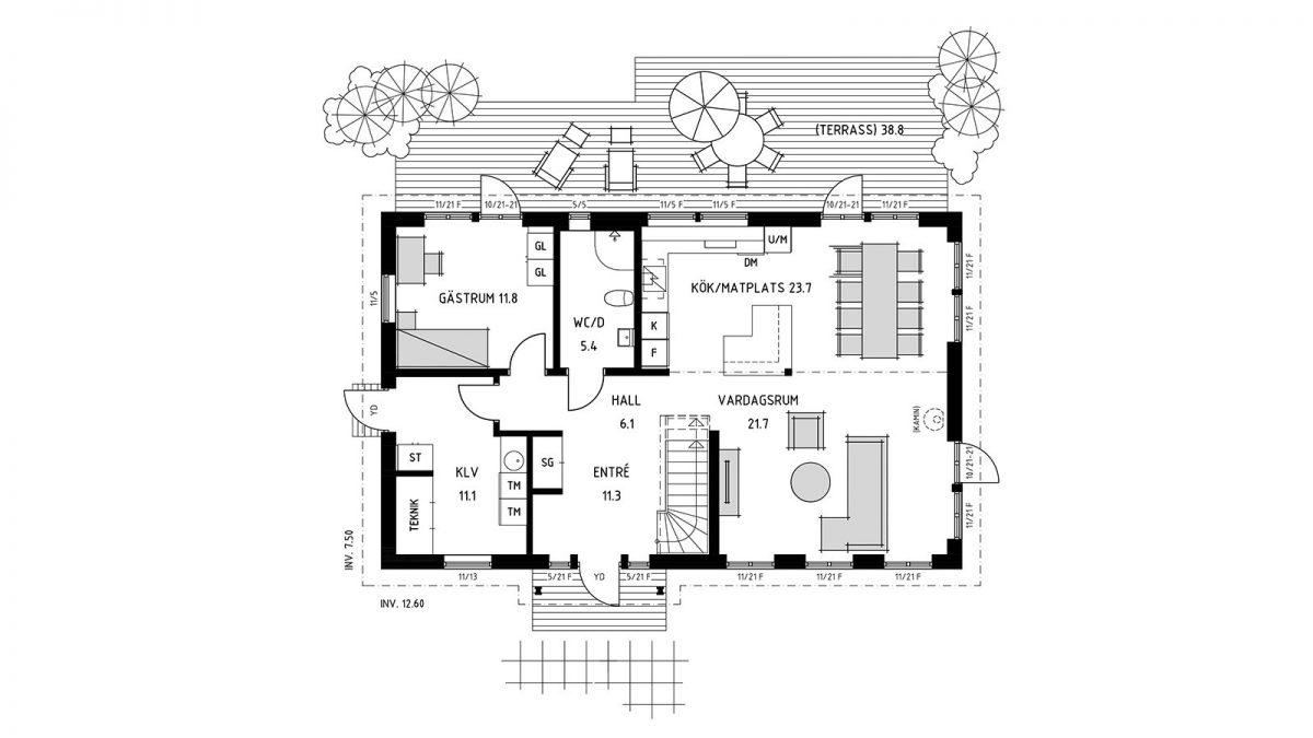 Trivselhus Houses B:003