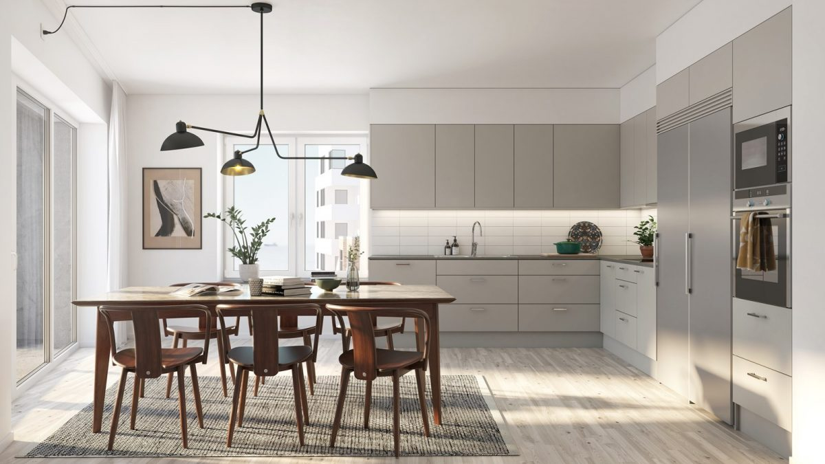 Stilrena kök i grått eller vitt utförande