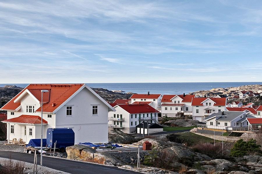 Välkommen till Nordviksberg. Ett område med havet som granne.