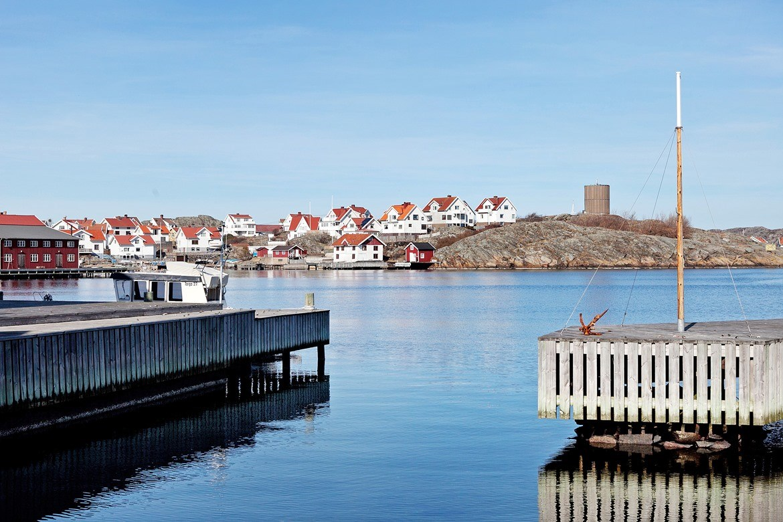 Områdesbild Klädesholmen