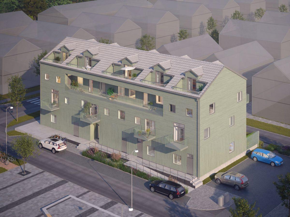 Hus 1 - Nordväst
