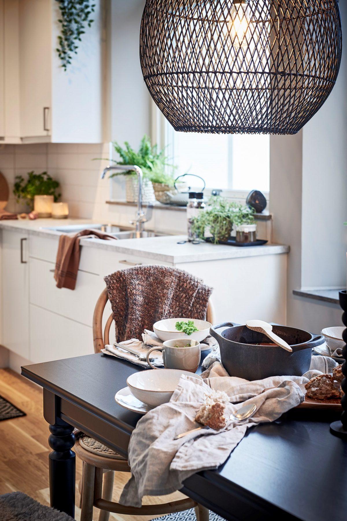 stående detaljbild kök