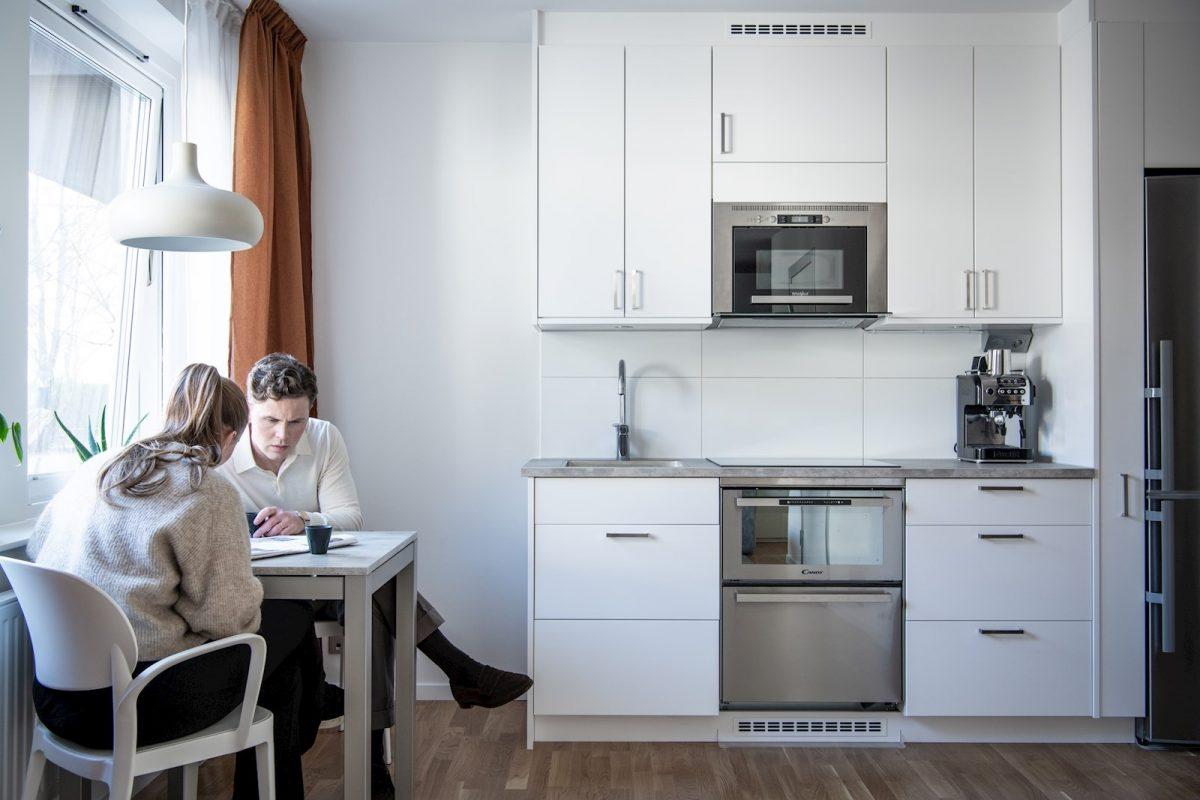 F18 Studios, elva superfunktionella citystudios med kök och separat matplats