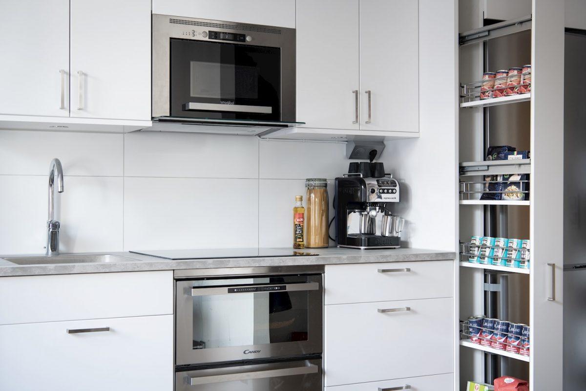 Kök med smart förvaring
